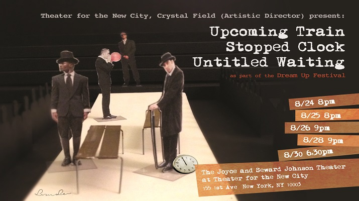 Theater for the New City Presents《Upcoming Train/Stopped Clock/Untitled Waiting》Written & Directed by Dennis Yueh-Yeh Li