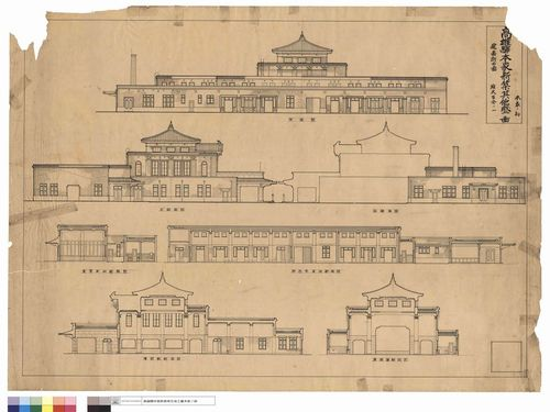 日本統治時代の駅舎に関する史料をデジタル化 アーカイブ構築へ