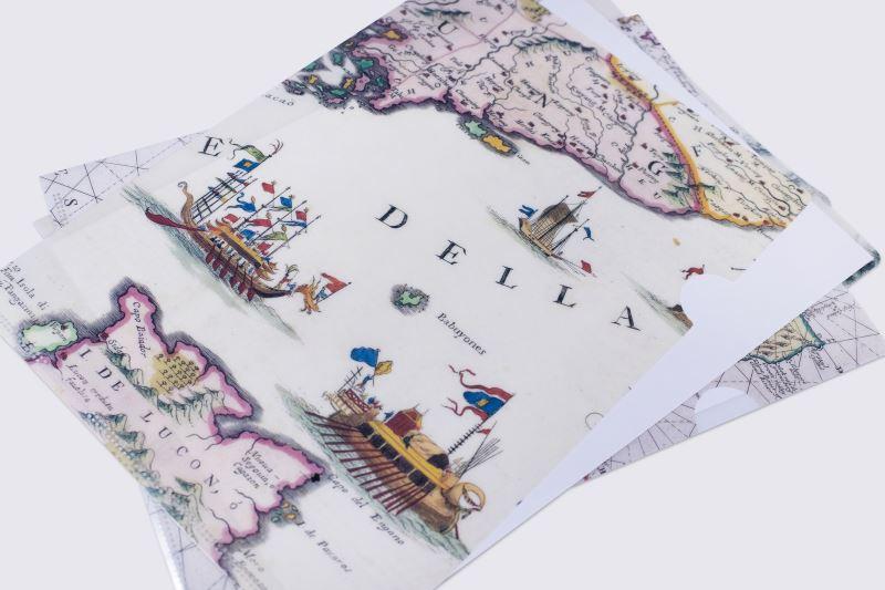 地圖L型夾1(1691年-中華廣東省與福建省圖)