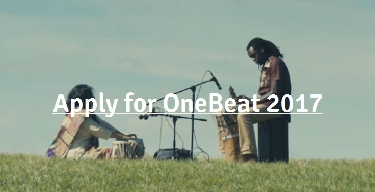 OneBeat 2017 (USA) – Call for applications