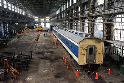 Le ministère de la Culture et celui des Transports pour redonner vie à l'ancien dépôt de ferroviaire