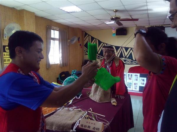 Tsou Hunting Bag Weaver | Yang Hsin-hsing