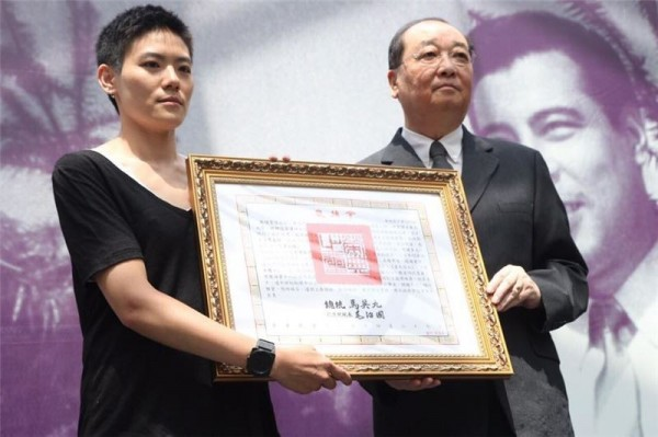 Posthumous citation honors late actor George Wang