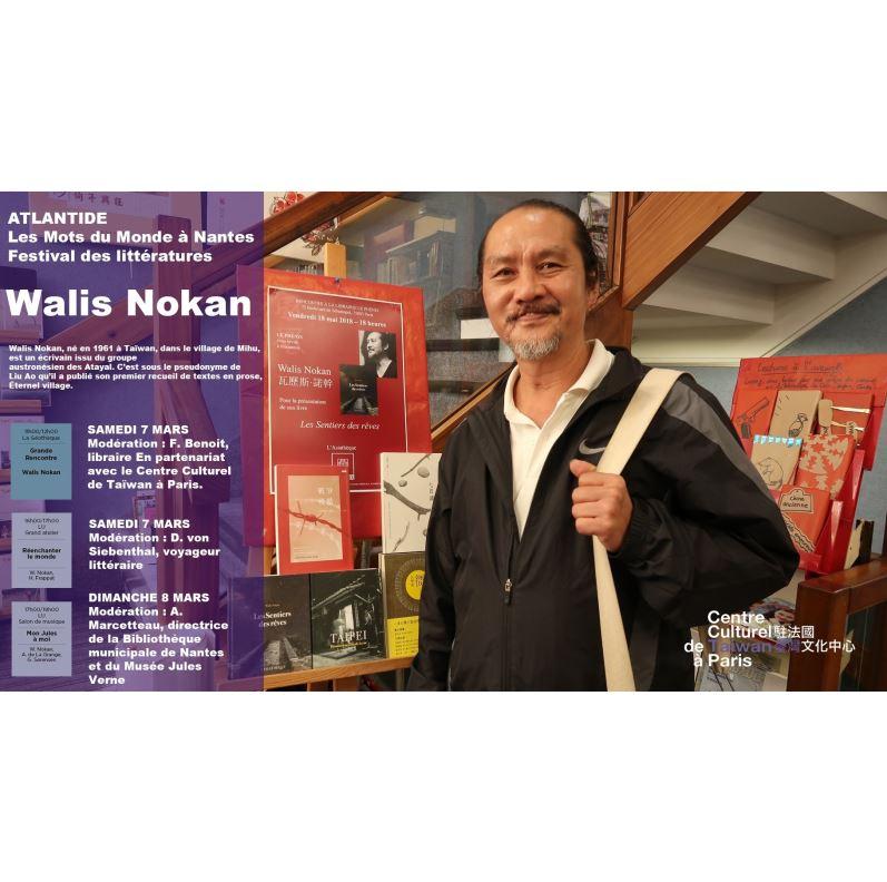 L'écrivain Atayal de Taiwan, Walis Nokan, invité par le Festival Atlantide de Nantes