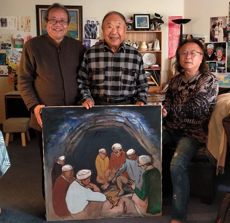 2500 œuvres d'un peintre trésor national de retour des Etats-Unis