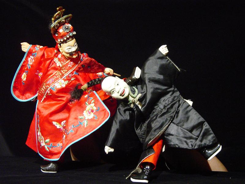 真快樂掌中劇團2009年美國巡演