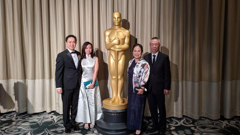 Ma Wan-chun reçoit le prix technique de l'Académie des arts et des sciences du cinéma des Etats-Unis