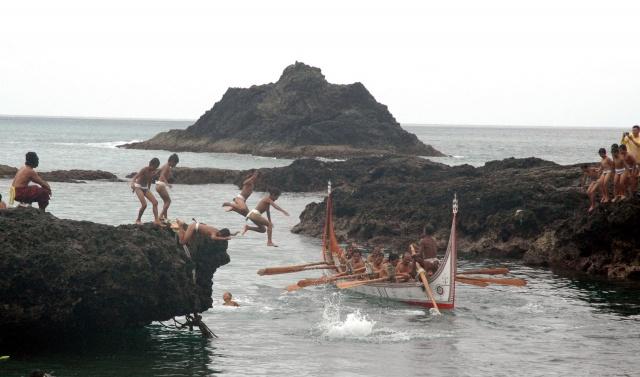 蘭嶼集落と自然景観