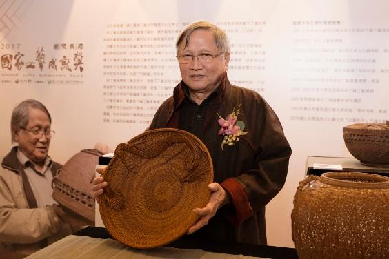 Chang Hsien-ping fue galardonado con el 11º Premio Nacional de Logros Artesanales