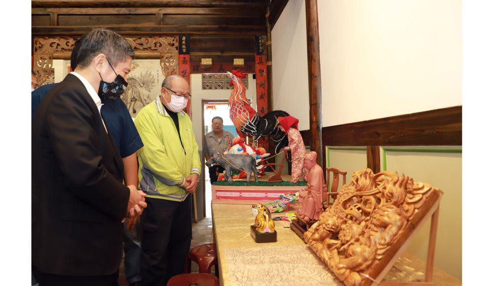 文化部長李永得參訪雲林 期盼再現雲林歷史風華 向世界述說動人的臺灣故事
