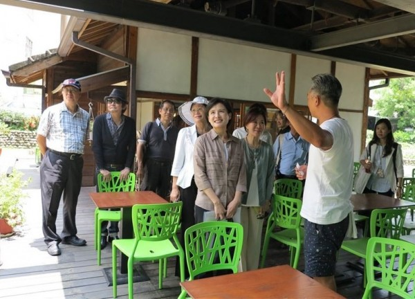 Minister visits cultural sites in Yunlin