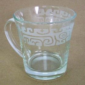 噴砂馬克杯-饕餮紋鼎