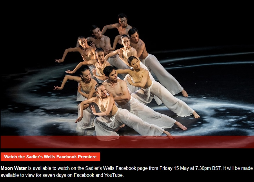 Cloud Gate to join the digital stage of Sadler's Wells on May 15