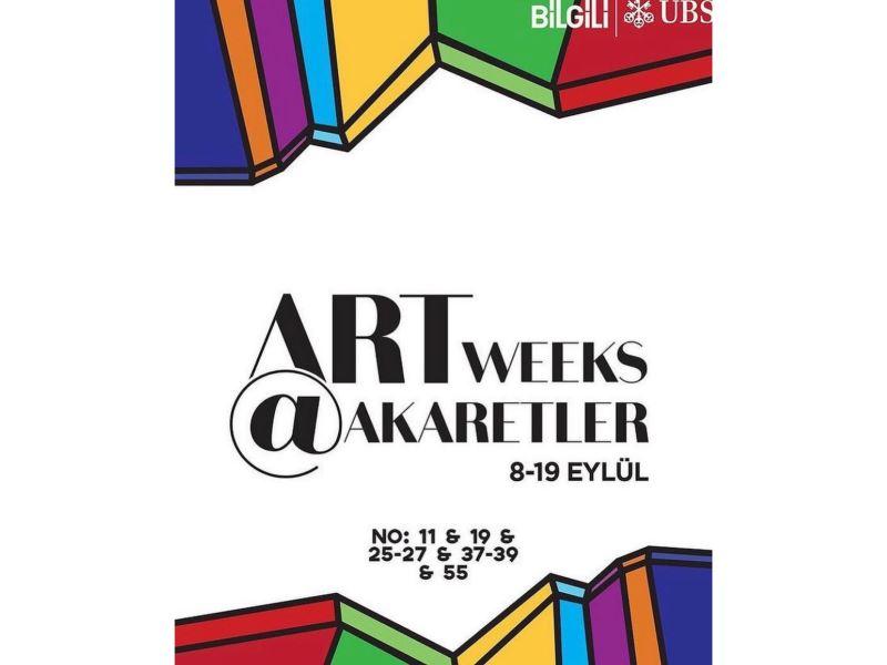 Contemporary artist Melek Kocasinan takes part in Artweeks@Akaretler in Istanbul