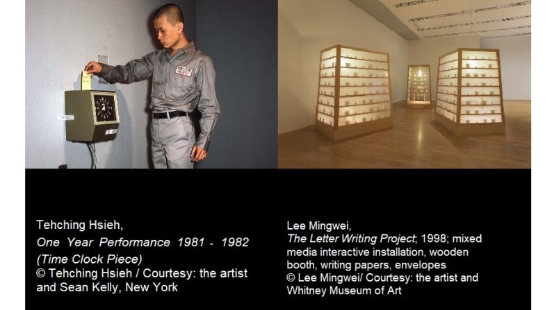 Lee Mingwei and Tehching Hsiehgs' time-based and durational installation at the Rubin Museum of Art