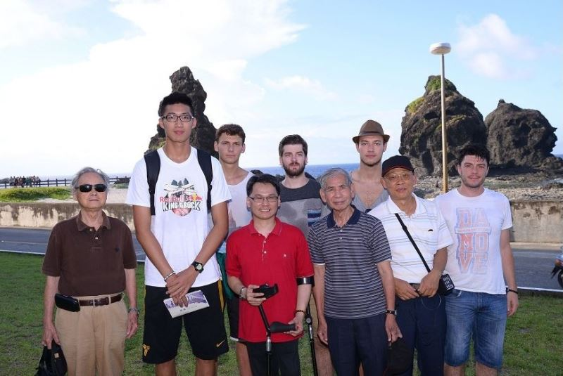 Basketball players learn of Green Island's dark past