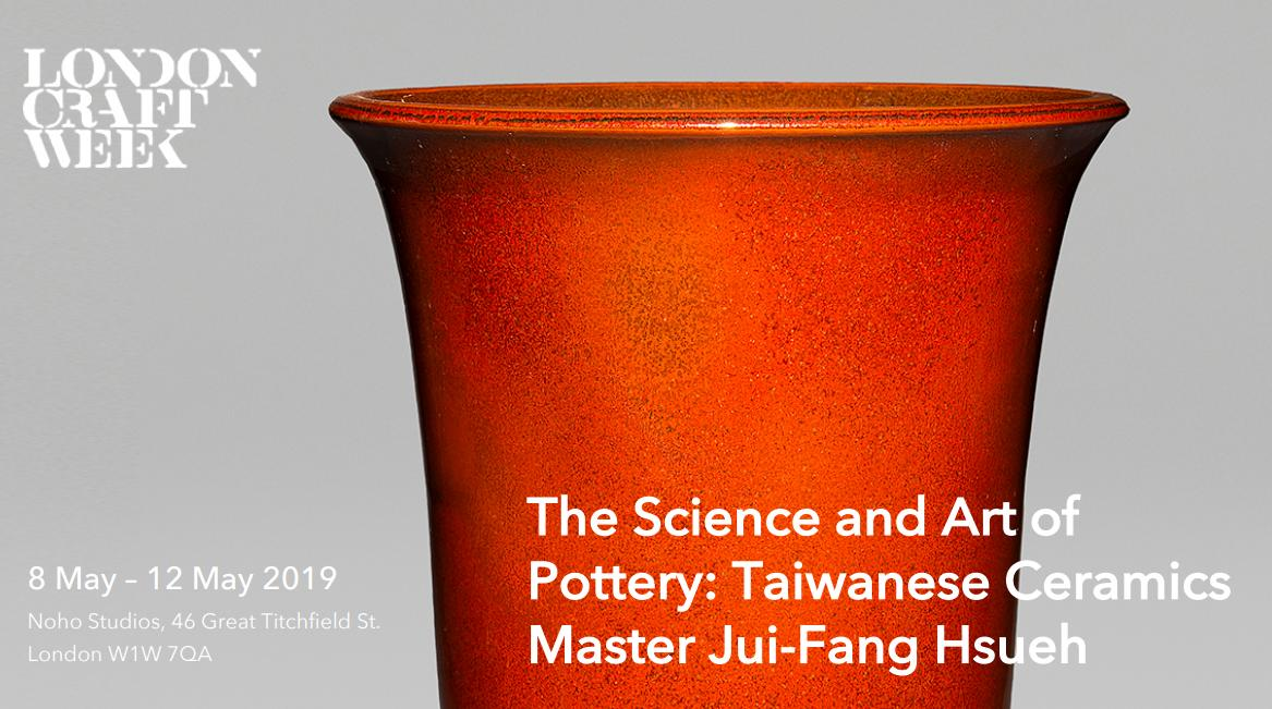Taiwanese ceramics master to join 2019 London Craft Week