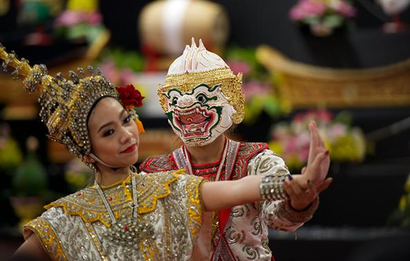 倥舞《拉瑪堅》2017亞太傳統藝術節