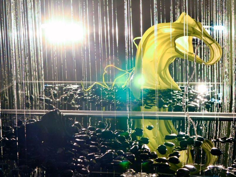 休眠模式— 臺灣書院展出藝術家倪灝雕塑裝置作品