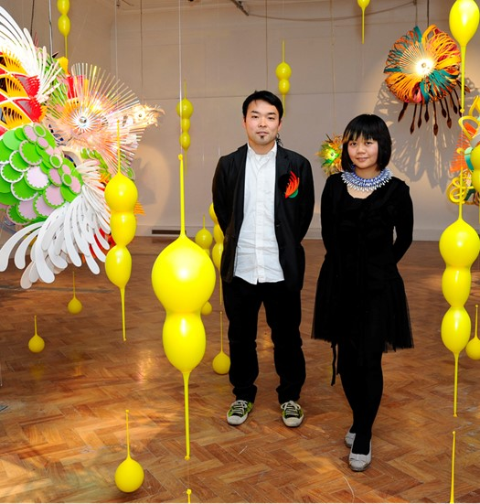 Taiwanese-Japanese site-specific art in London