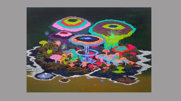 臺灣藝術家張騰遠及策展人王俊琪參加紐約ISCP駐村開放工作室