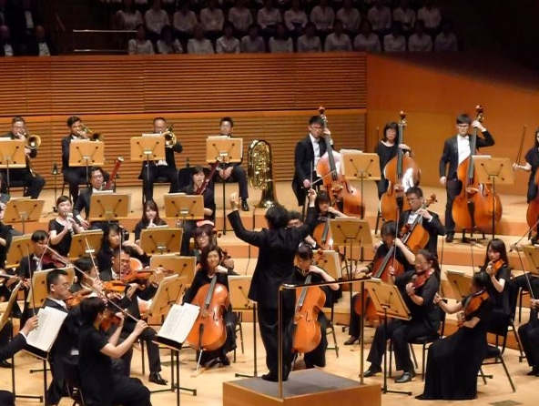 第一支登上美國洛杉磯迪士尼音樂廳的臺灣交響樂團 國臺交赴美巡演第二演座無虛席