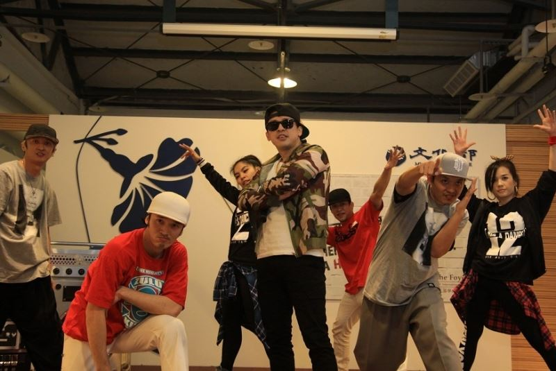 German hip-hop experts share experiences in Taiwan