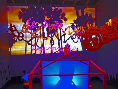臺灣藝術家葉育君展出「洛杉磯之夢」作品