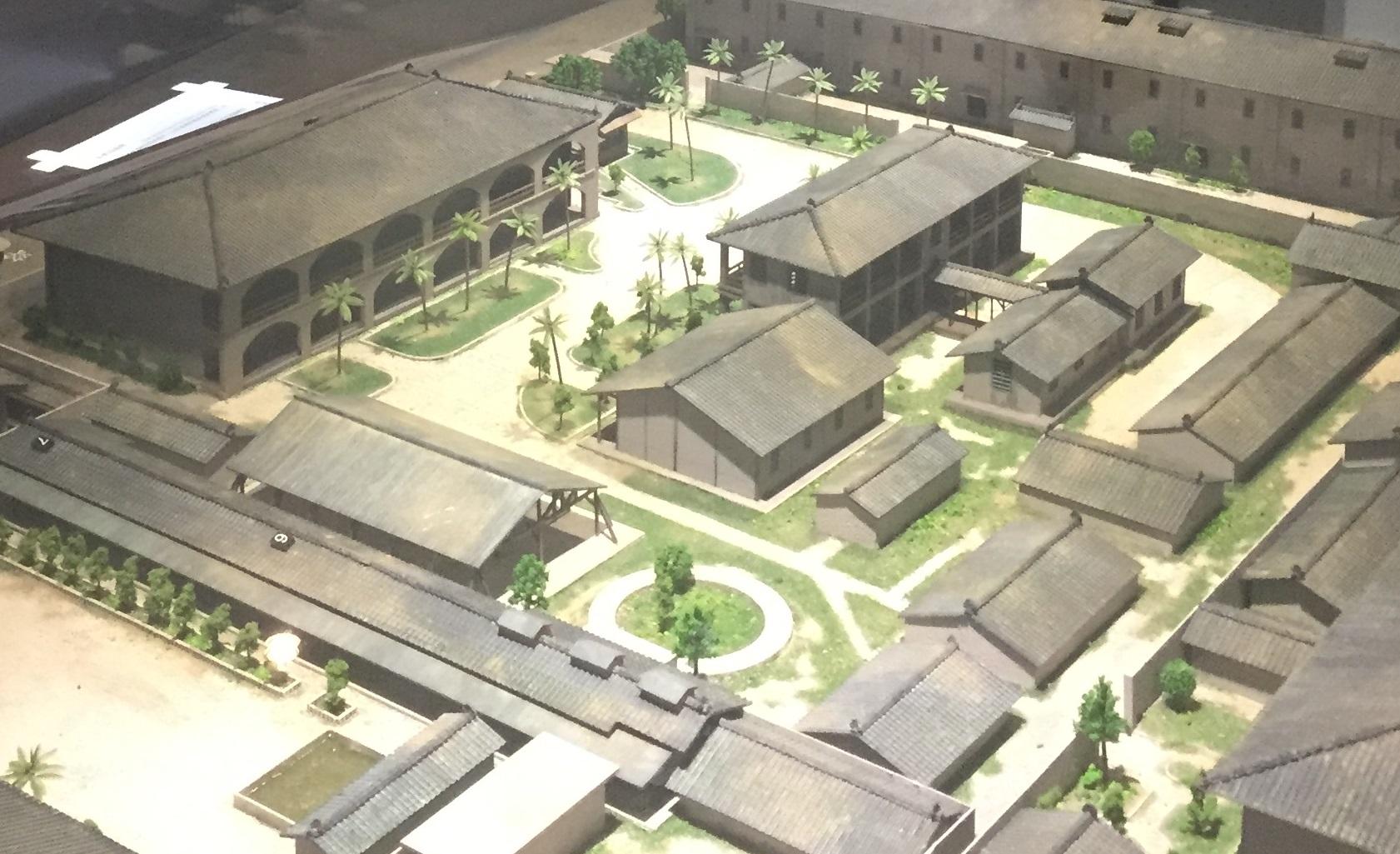 青島東路軍法看守所(復原模型)