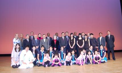 台北芸術大学音楽院の院生4名が「MIFA国際交流フェスティバル」に出演