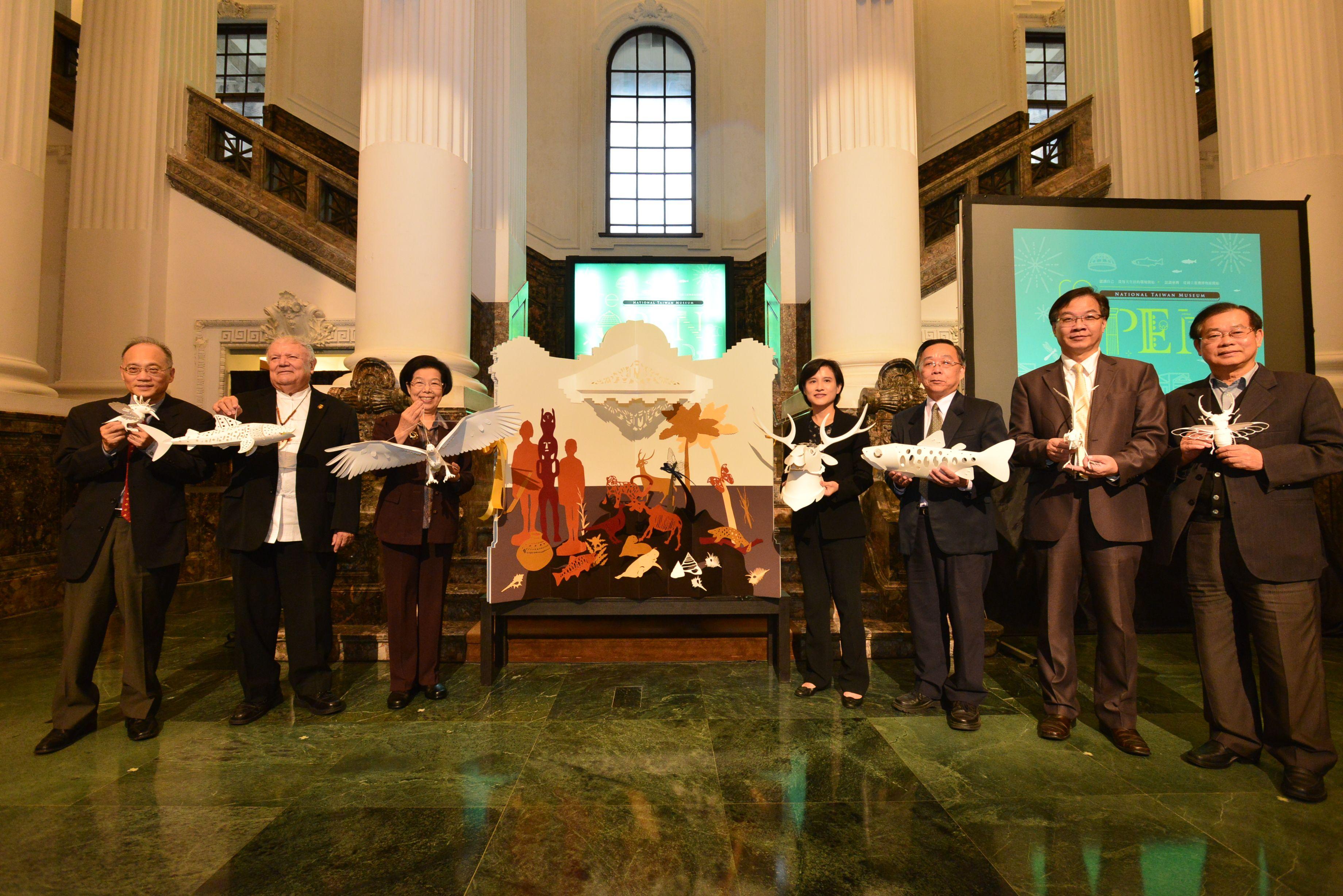 臺博館本館重新開幕  自然文物大爆發