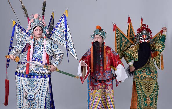 Rom Shing Hakka Opera Troupe The Parricide of Gongsun