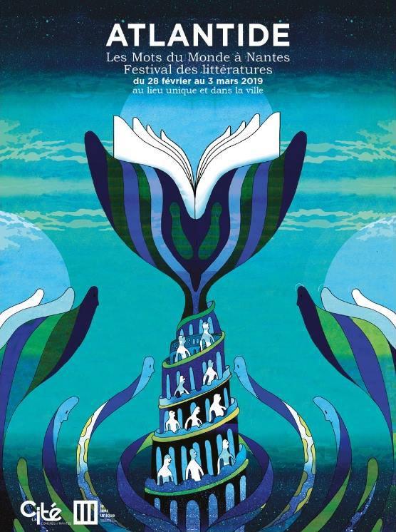 Taiwan author Wu Ming-yi to attend Nantes literary festival Atlantide