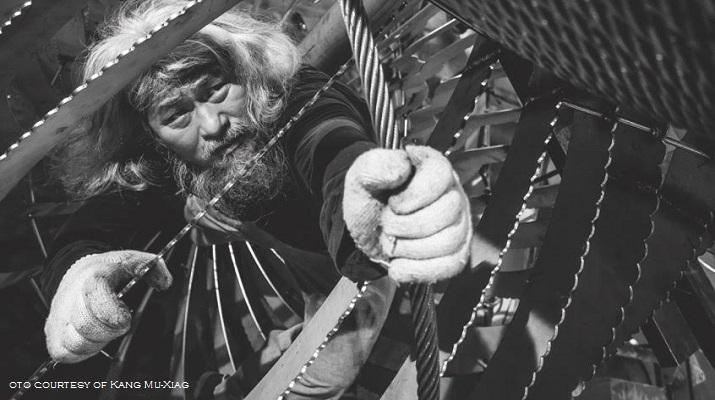 台灣月講座開鑼  康木祥將分享全球第一件退役電梯鋼纜藝術創作歷程