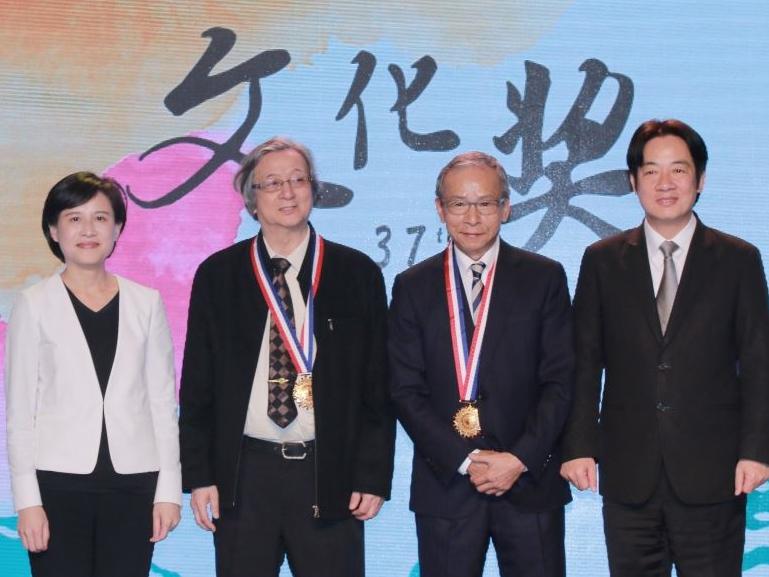 Hsieh Li-fa y Wu Nien-jen fueron galardonados con Premio de Cultura de la 37ª edición