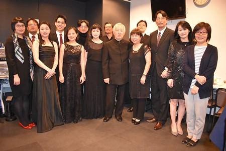 張仁久・駐日副代表、「台湾フィルハーモニック室内楽コンサート」東京公演に出席