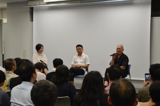 蔡明亮監督が台湾文化センターで講演、「自由と開放的な台湾が作品を豊かにした」