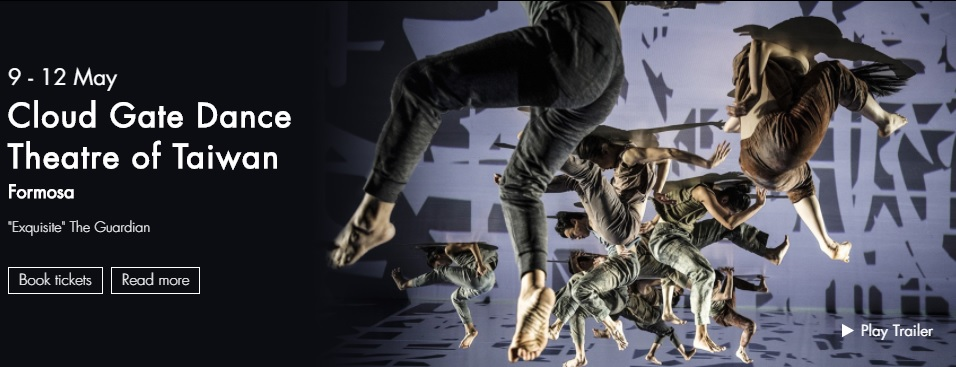 UK premiere of Cloud Gate's 'Formosa' to debut at Sadler's Wells