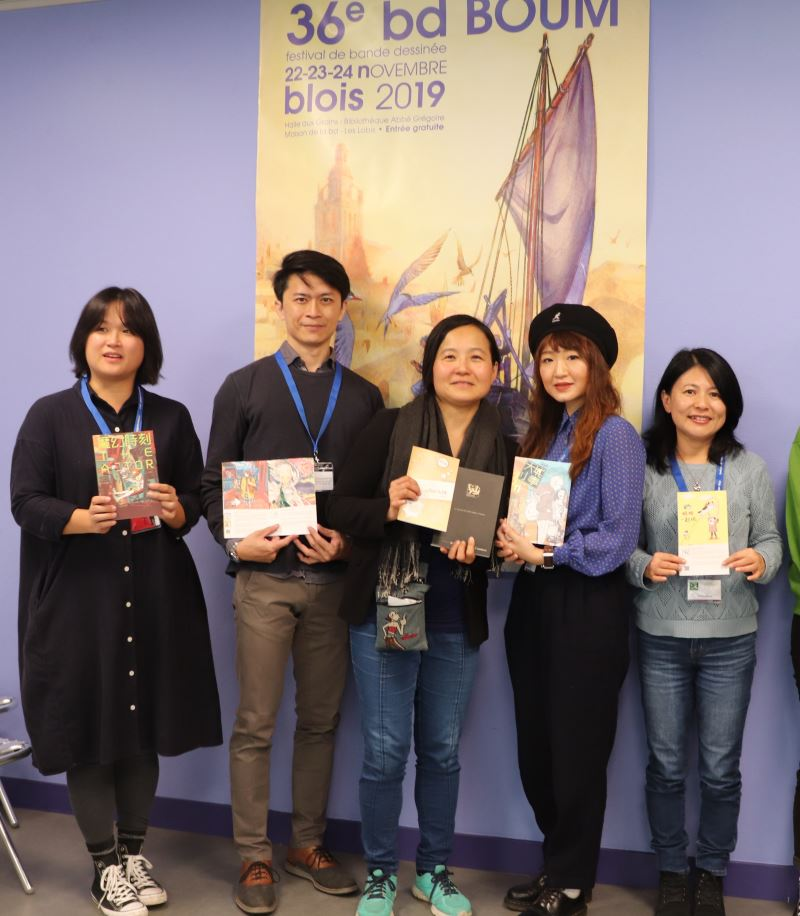GCA laureates bring their creativity in comics to France, Japan