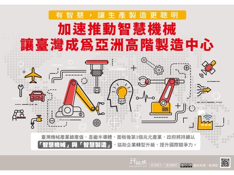 行政院新聞傳播處「加速推動智慧機械」政策廣告