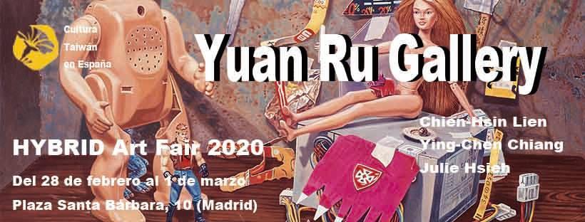 Desde Taiwán, Yuan Ru Gallery estará presente en la Semana del Arte de Madrid