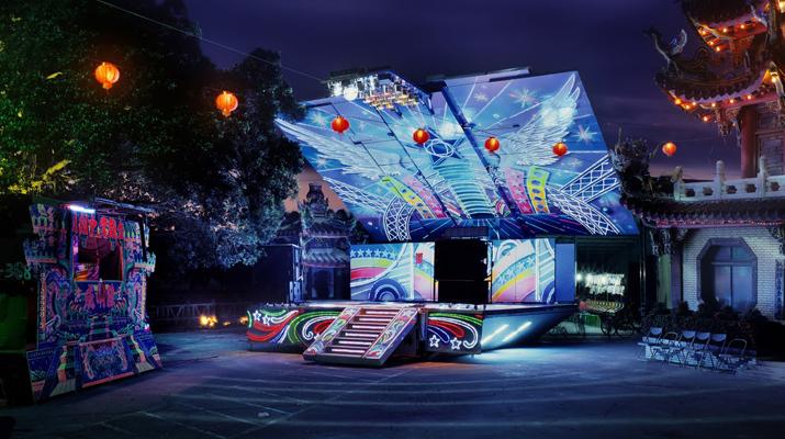 台灣藝術家沈昭良在紐約展出攝影作品「舞台」(Stage)