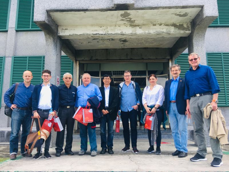 German parliamentary group visits human rights site on Green Island
