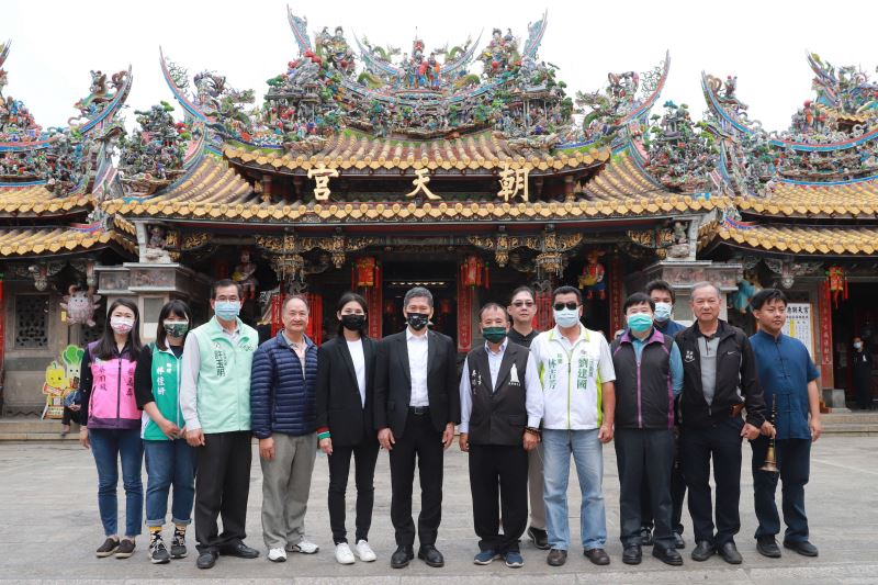 Culture Minister Lee Yung-te visits cultural heritage sites in Yunlin