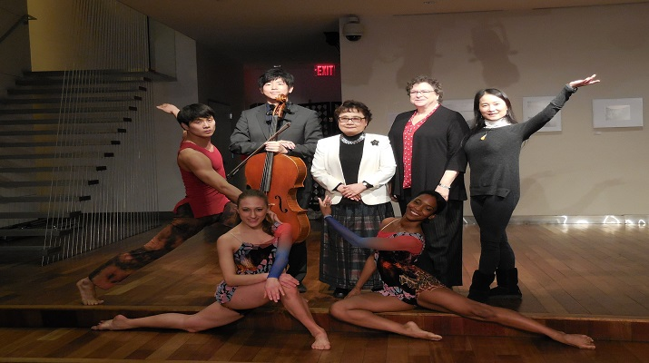 The Nai-Ni Chen Dance Company returns to Flushing Town Hall for CrossCurrent