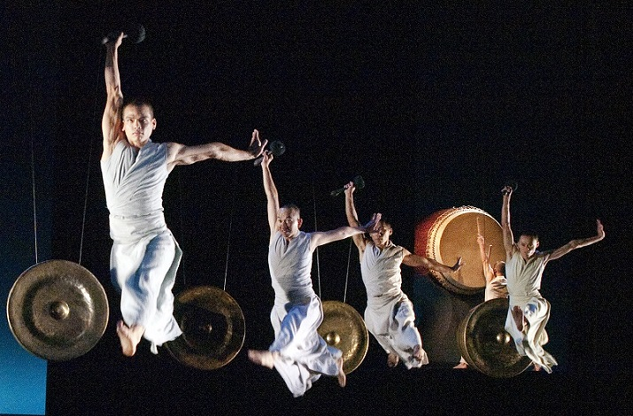 Taiwan's U-Theatre returns to BAM with percussive choreopoem Beyond Time, Nov 19—21