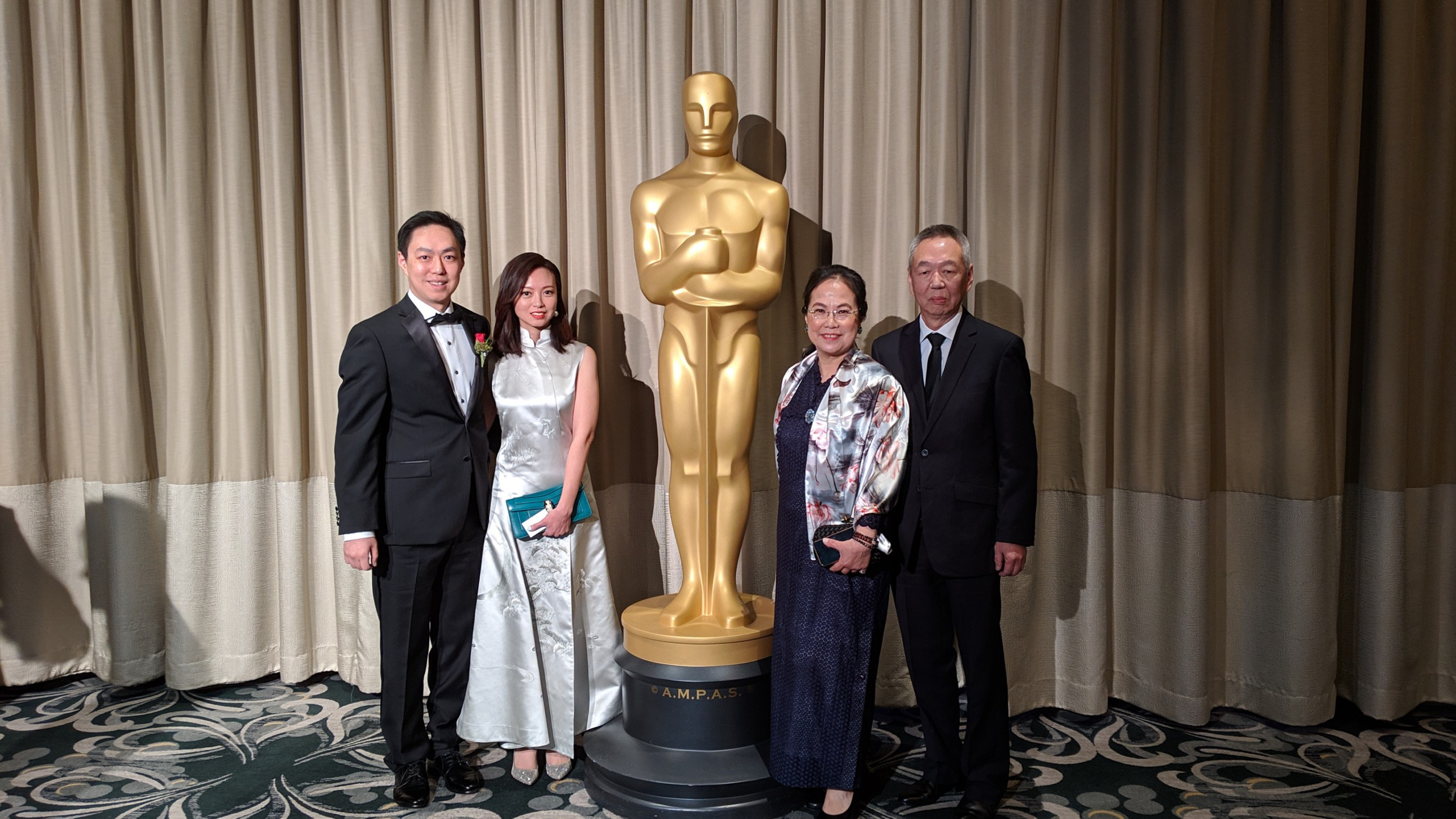 Taiwan engineer cited for technical achievement by the Oscars
