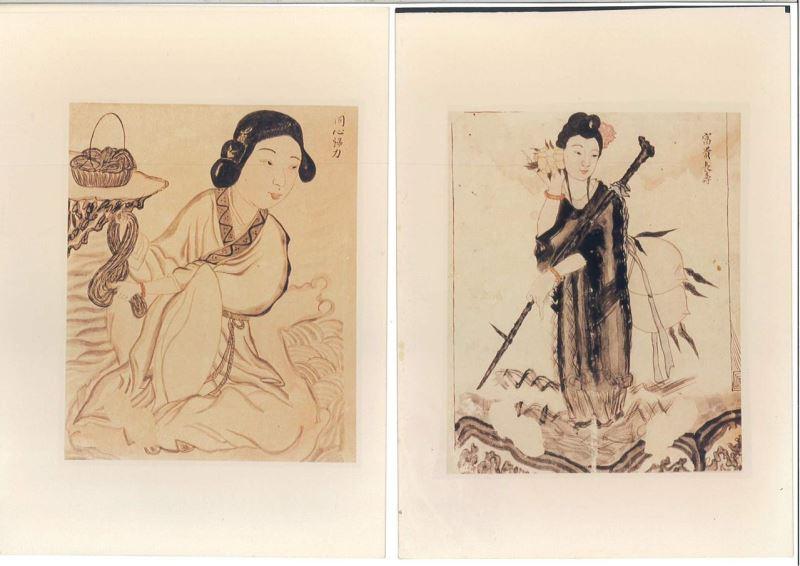 日本統治時代の画家・黄燕清の作品100点余り、台南市に寄贈