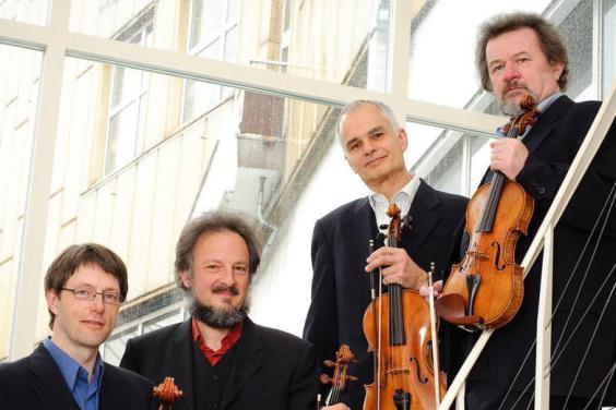 'The Elite Four' featuring the Philharmonia Quartet Berlin