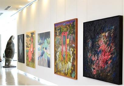 茨城県つくば美術館「ファインアート展」に台湾の若手作家が出品